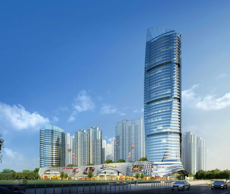 蝴蝶湾建筑平面结构布置图