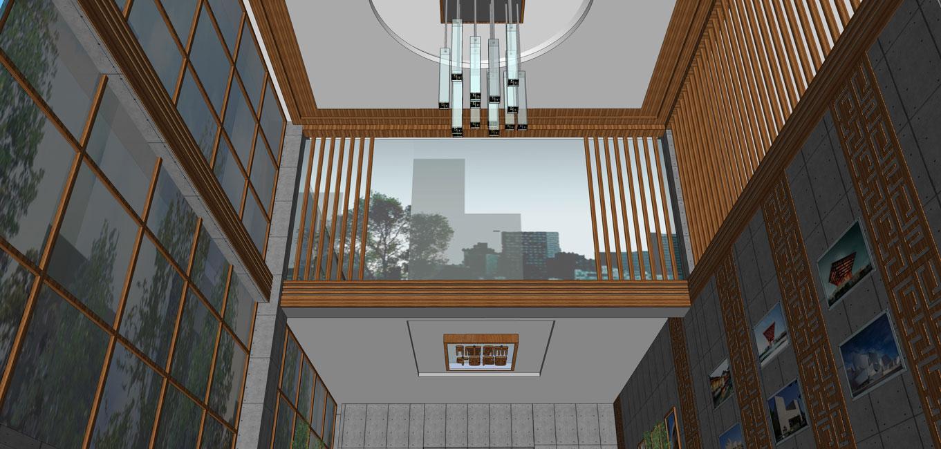 为建筑设计公司的办公空间,是将废弃厂房建筑进行改造,建筑功能重新